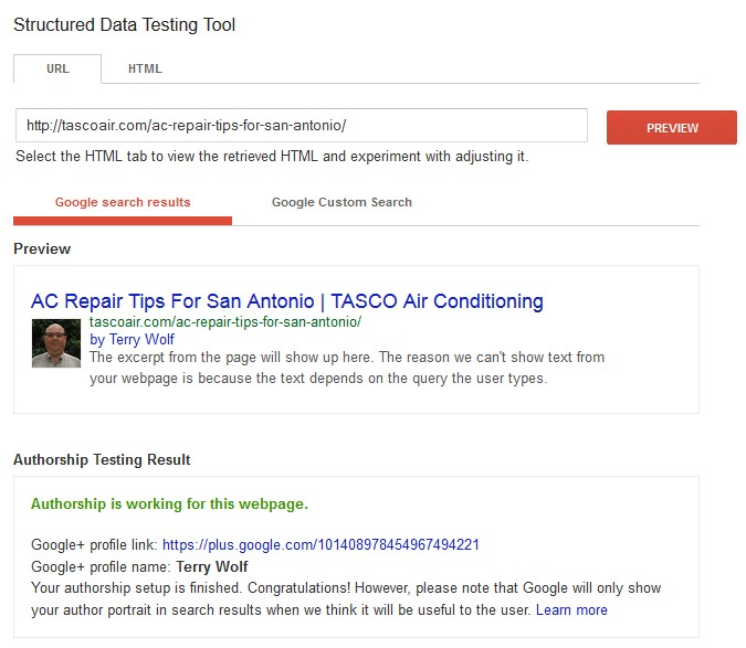 What is the value of Google Authorship?