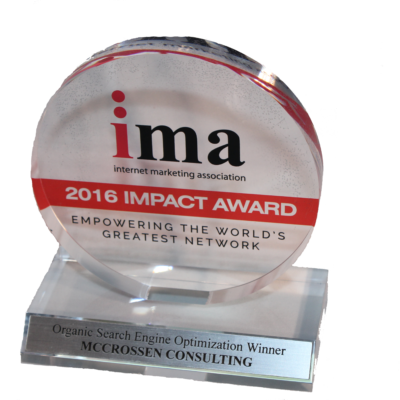 mccrossen internet marketing san antonio SEO award 2016