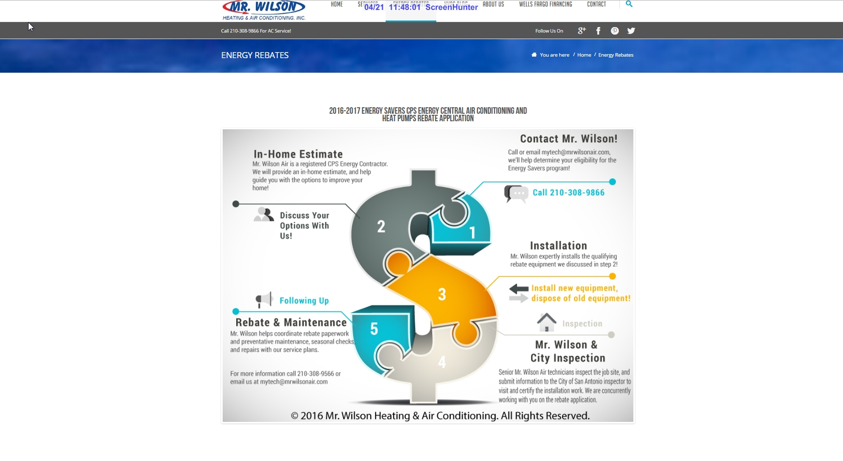 mccrossen marketing mr wilson air conditioning infographic